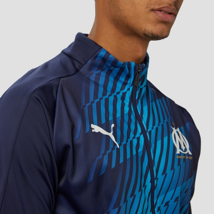 PUMA OLYMPIQUE MARSEILLE STADIUM TRAININGSJAS 19/20 BLAUW HEREN