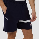PUMA RED BULL RACING LOGO KORTE JOGGINGBROEK BLAUW HEREN