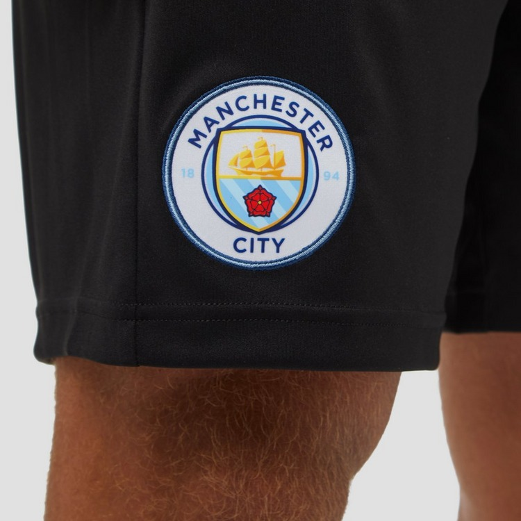 PUMA MANCHESTER CITY FC TRAININGSSHORT 19/20 ZWART HEREN