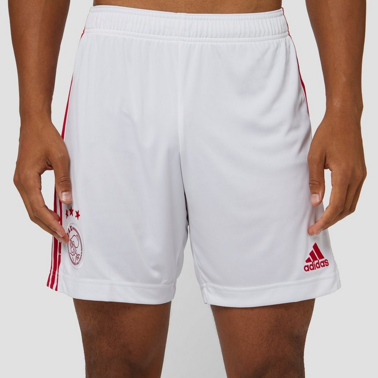 adidas AFC AJAX THUISSHORT 20/21 WIT/ROOD HEREN