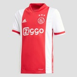 ADIDAS AFC AJAX THUISSHIRT 20/21 WIT/ROOD KINDEREN