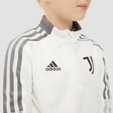 ADIDAS JUVENTUS FC TRAININGSTOP 21/22 WIT/GRIJS KINDEREN
