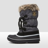 WINTER-GRIP LACE-UP SNOWBOOTS ZWART DAMES