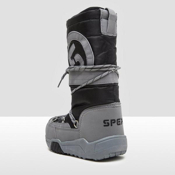 SPEX SNOWTRACK SNOWBOOTS ZWART/GRIJS KINDEREN
