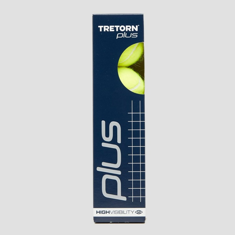 TRETORN PLUS 4-PACK TENNISBALLEN