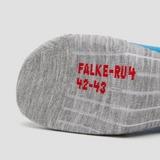 FALKE COOL SHORT RU4 HARDLOOPSOKKEN WIT/BLAUW HEREN