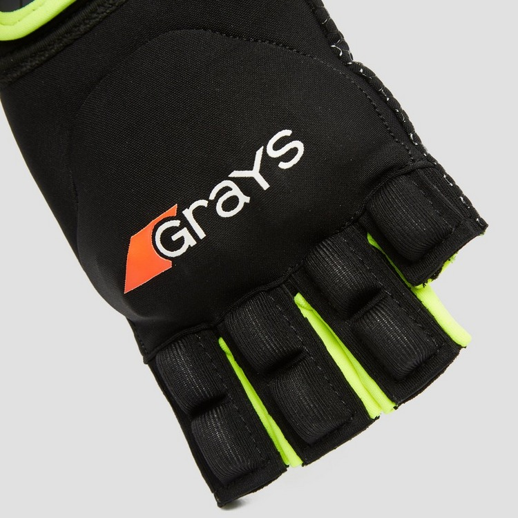 GRAYS ANATOMIC PRO LINKS HOCKEYHANDSCHOEN ZWART/GEEL