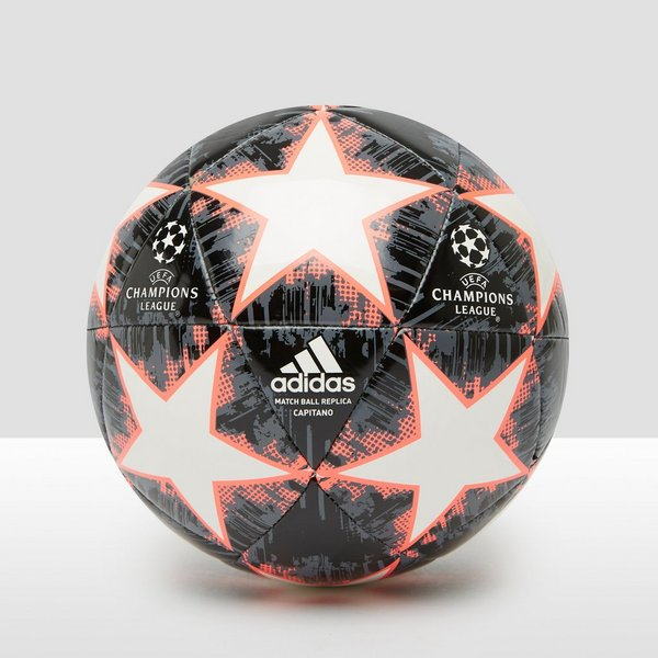 ADIDAS UEFA CHAMPIONS LEAGUE FINALE 18 CAPITANO VOETBAL ZWART/ROOD