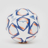 ADIDAS UEFA CHAMPIONS LEAGUE FINALE 2020 ISTANBUL MINI VOETBAL WIT/BLAUW