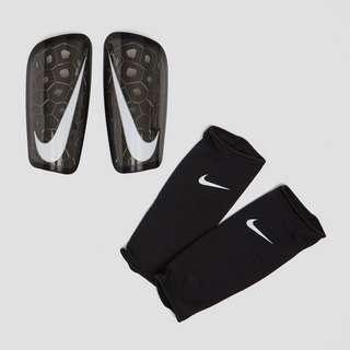 Nike MERCURIAL LITE SCHEENBESCHERMERS ZWART/WIT