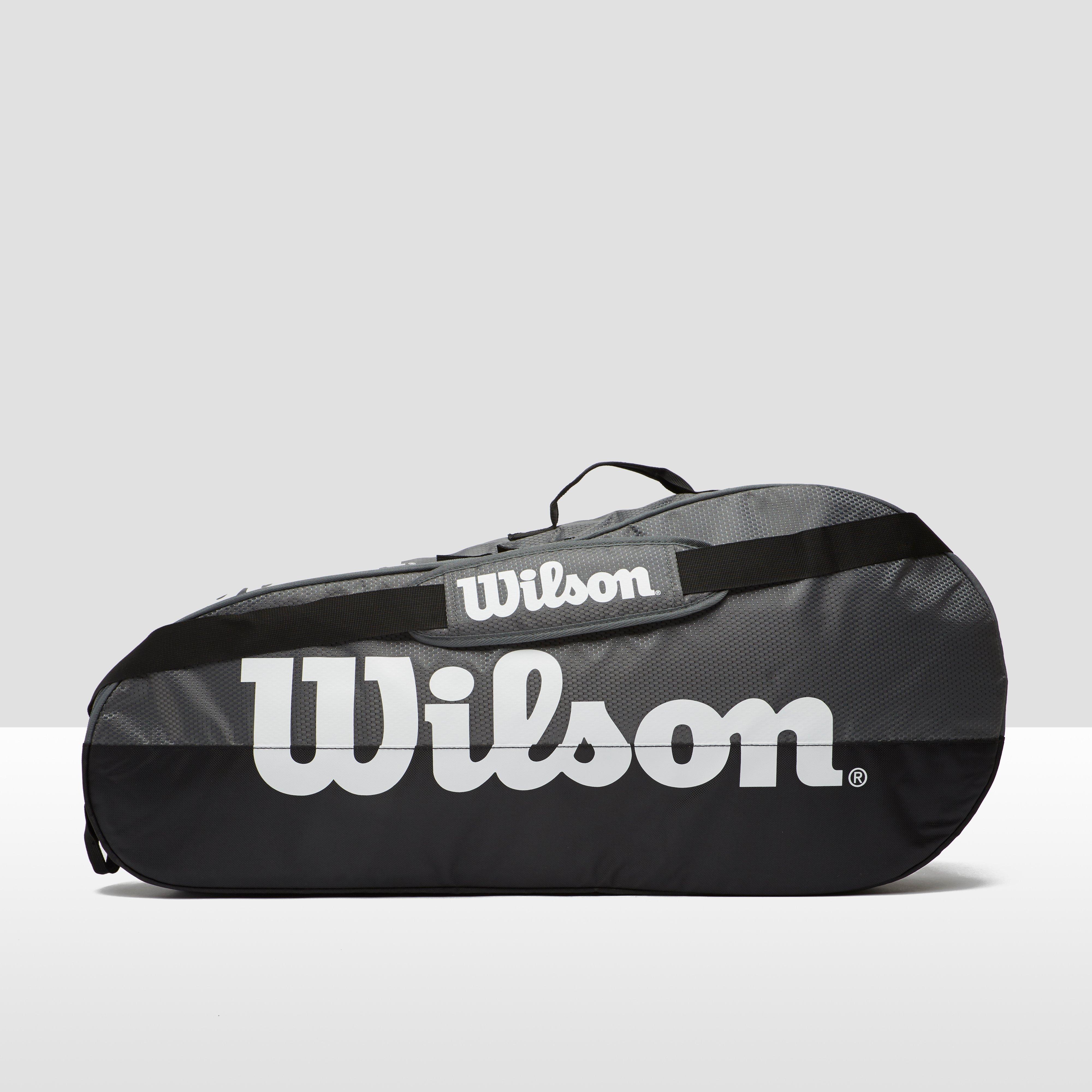 WILSON TEAM 1 COMP TENNISTAS ZWART/WIT