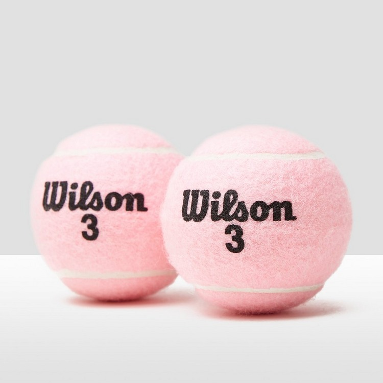 WILSON INTRIGUE ALL COURT TIN TENNISBALLEN ROZE