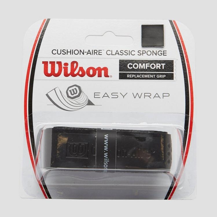 WILSON CUSHION-AIRE CLASSIC SPONGE GRIP ZWART