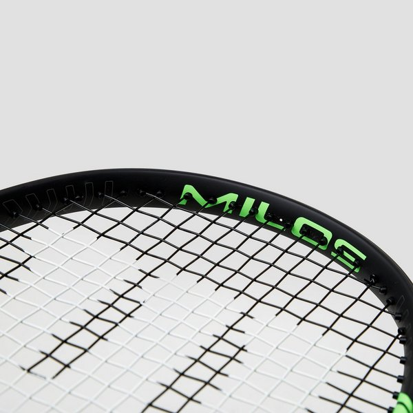 WILSON MILOS TOUR 100 TENNISRACKET ZWART/GROEN