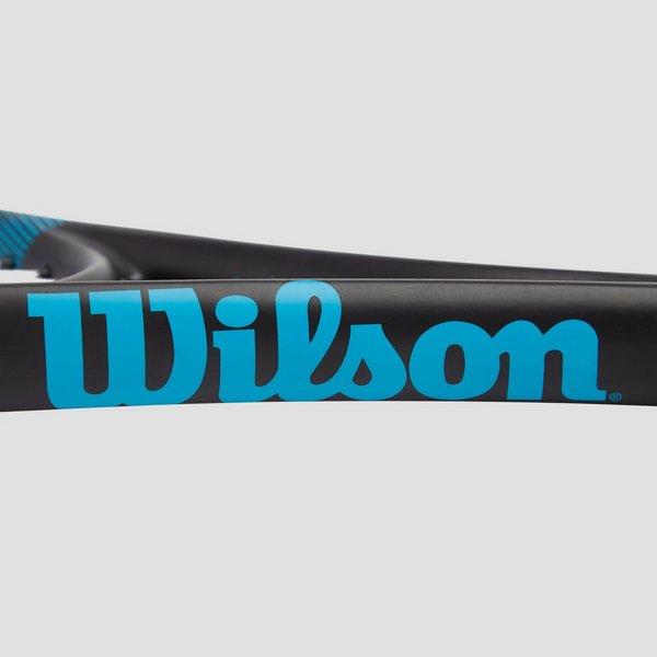 WILSON F-TEK 105 TENNISRACKET ZWART/ROOD
