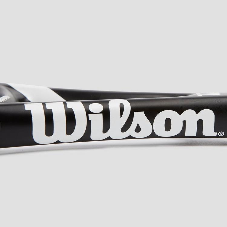 WILSON FEDERER TEAM 105 TENNISRACKET ZWART/WIT