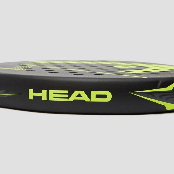 HEAD FLASH PADELRACKET ZWART/GEEL