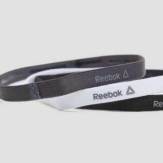 REEBOK ONE SERIES SMALLE HOOFDBANDEN 3-PACK