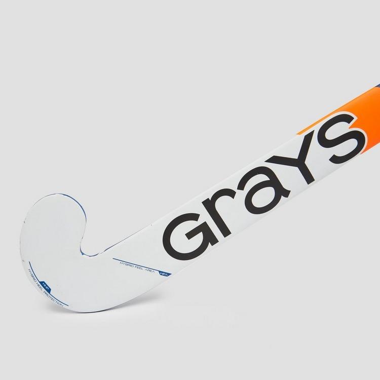 GRAYS 100i INDOOR ULTRABOW HOCKEYSTICK ROZE/BLAUW KINDEREN