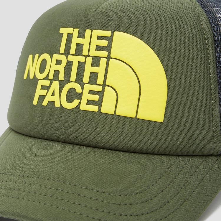 THE NORTH FACE LOGO TRUCKER PET GROEN/GEEL KINDEREN