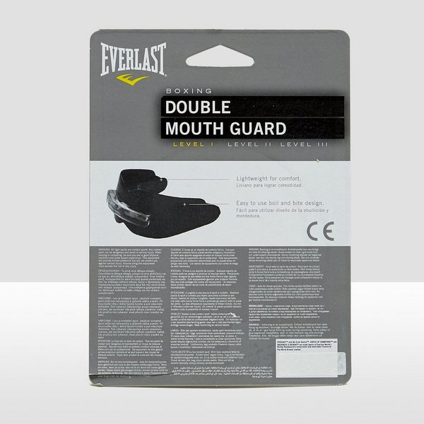 EVERLAST DOUBLE MOUTHGUARD TRANSPARANT