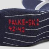 FALKE SK2 SKISOKKEN GRIJS/BLAUW HEREN