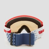 SINNER VALLEY SKIBRIL SMALL WIT/ROOD