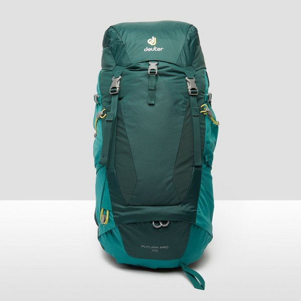 71899b465d9 DEUTER FUTURA PRO 36 BACKPACK 36 LITER GROEN | Perrysport