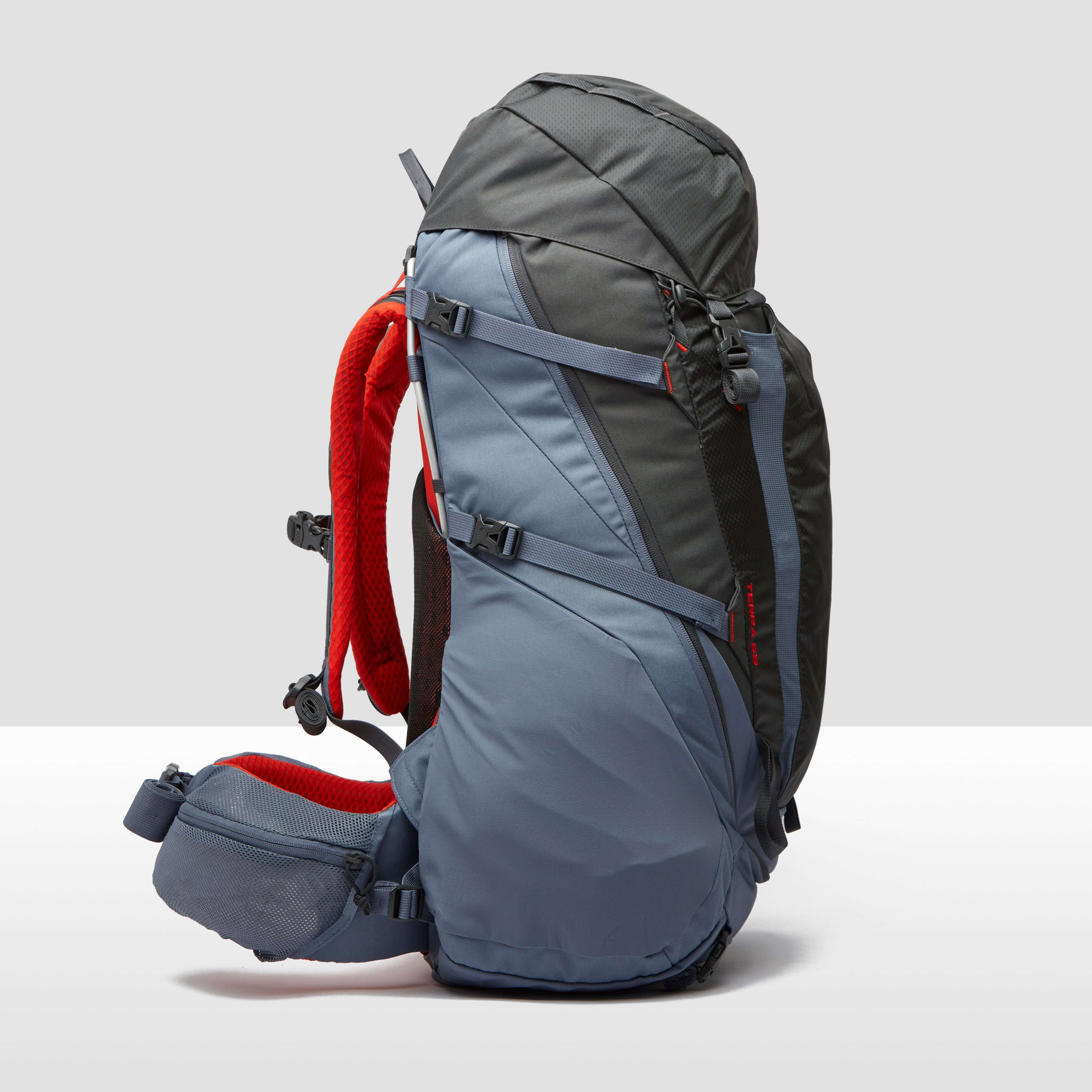 THE NORTH FACE TERRA BACKPACK 65 LITER GRIJS/ROOD