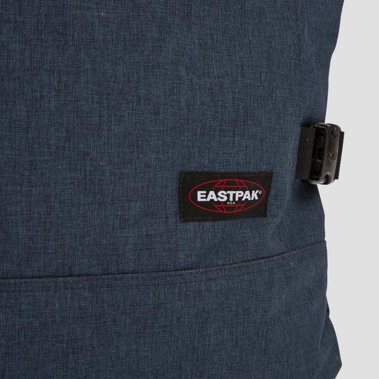 EASTPAK TRANVERZ REISTAS MET WIELEN LARGE BLAUW