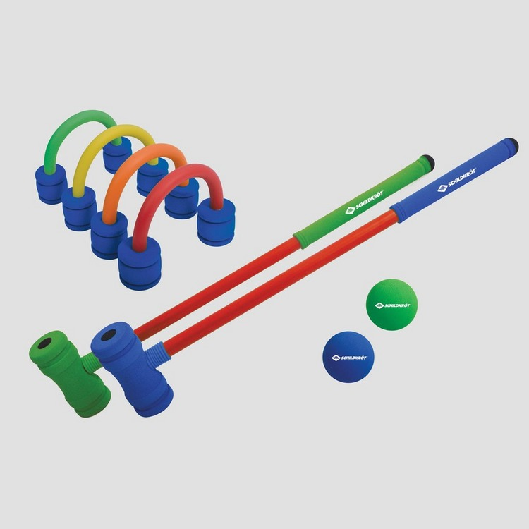 SCHILDKROT SOFT CROQUET SET