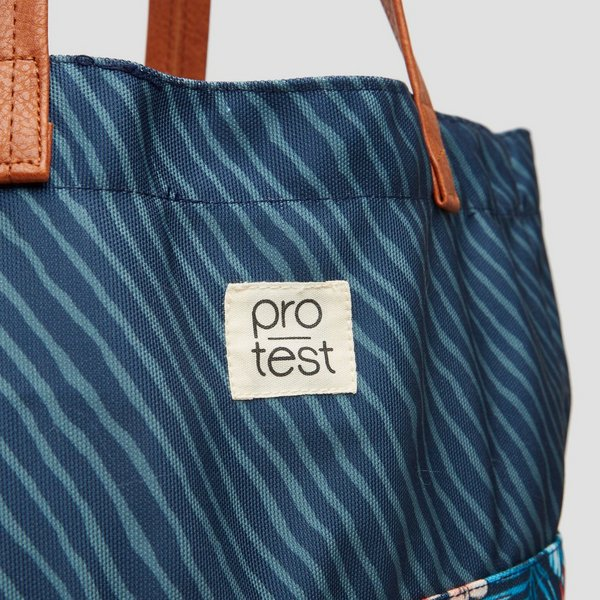 PROTEST OAKE TOTE BAG BLAUW DAMES