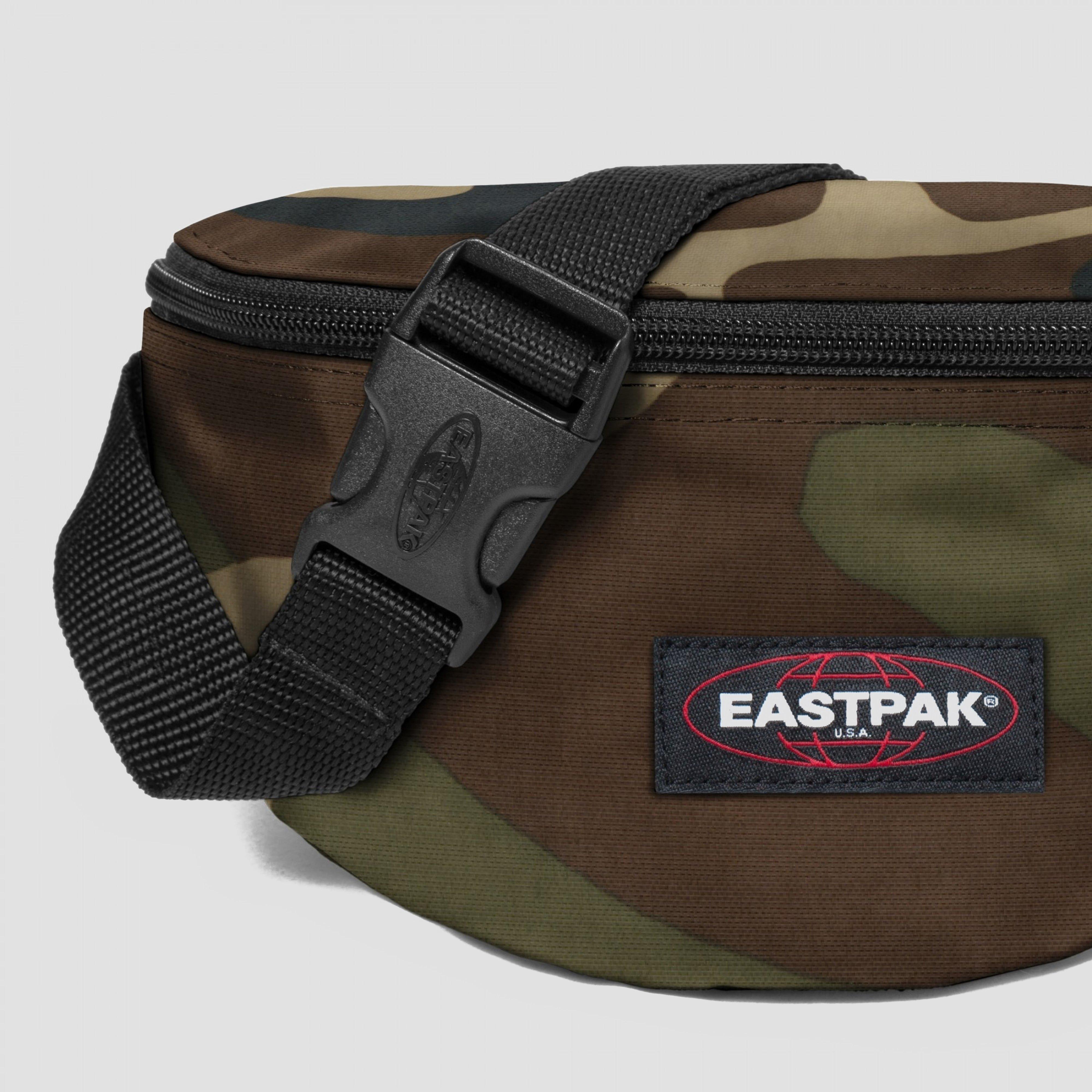 EASTPAK SPRINGER HEUPTAS GROEN/BRUIN