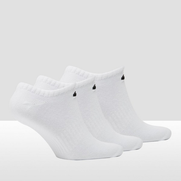 NIKE EVERYDAY LIGHTWEIGHT NO SHOW SPORTSOKKEN 3-PACK WIT
