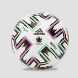 ADIDAS UEFA EURO 2020 UNIFORIA WEDSTRIJD VOETBAL WIT/GROEN