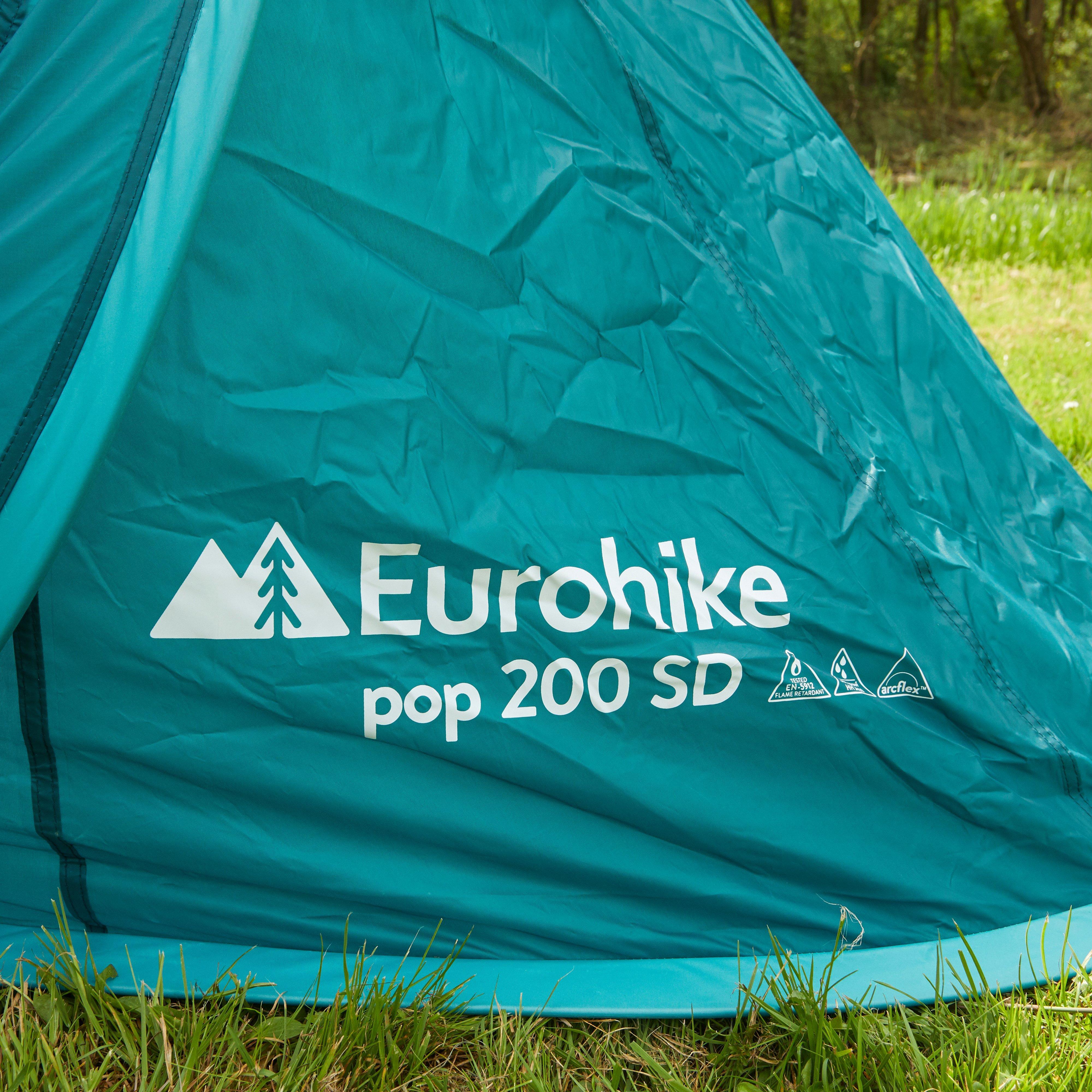 EUROHIKE POP-UP 200 TENT GROEN