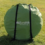 EUROHIKE POP-UP 400 DS 4-PERSOONS TENT GROEN