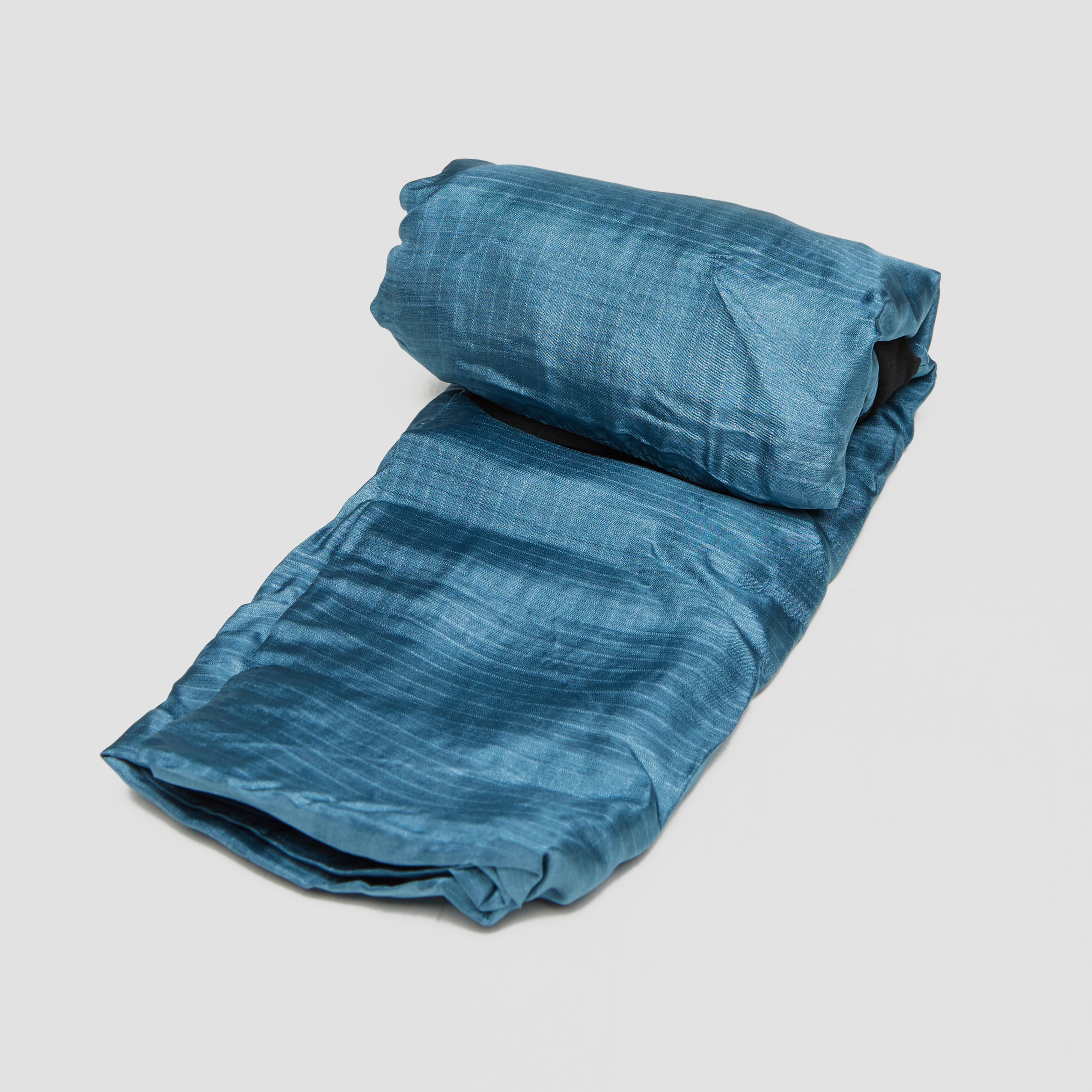 SEA TO SUMMIT SILK LINER WITH STRETCH PANEL BLAUW