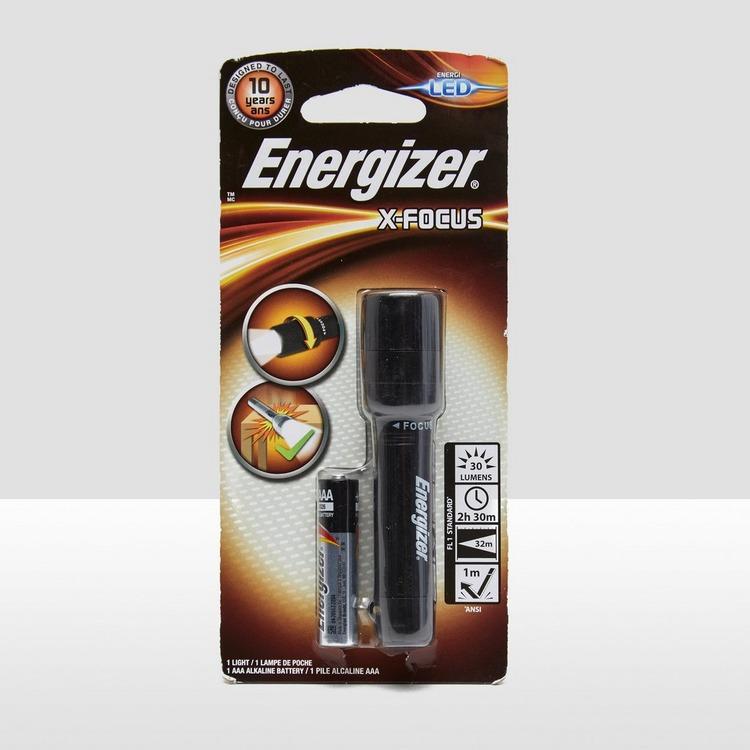 ENERGIZER X-FOCUS LED 1AAA ZAKLAMP ZWART
