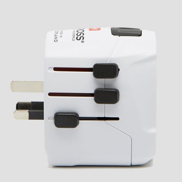 S-KROSS PRO LIGHT USB REISADAPTER WIT