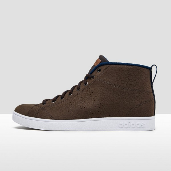 ADIDAS ADVANTAGE CLEAN MID SNEAKERS DONKERBRUIN HEREN