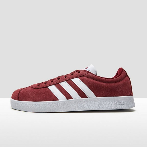 ADIDAS VL COURT 2.0 SNEAKERS ROOD HEREN | Perrysport