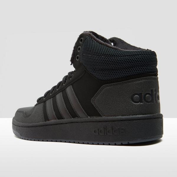 Zwarte adidas Hoops 2.0 Mid