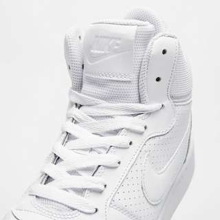 Nike court borough mid sneakers wit dames in 2019 | • L