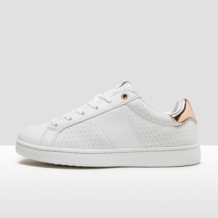 BJORN BORG T307 LOW SNEAKERS WIT/GOUD DAMES