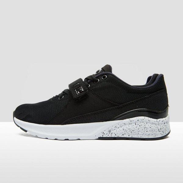 fila avenger low sneakers zwart dames | perrysport