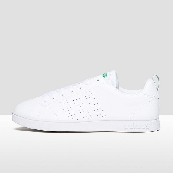ADIDAS ADVANTAGE CLEAN SNEAKERS WIT/GROEN KINDEREN