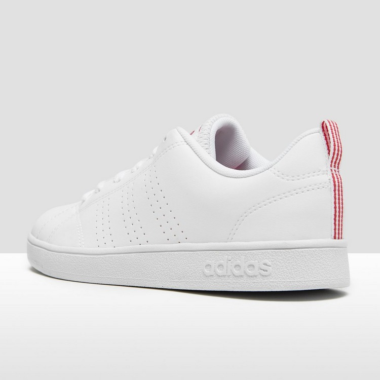 ADIDAS VS ADVANTAGE SNEAKERS WIT/ROZE KINDEREN