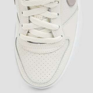 NIKE COURT BOROUGH LOW SNEAKERS WIT/GRIJS KINDEREN