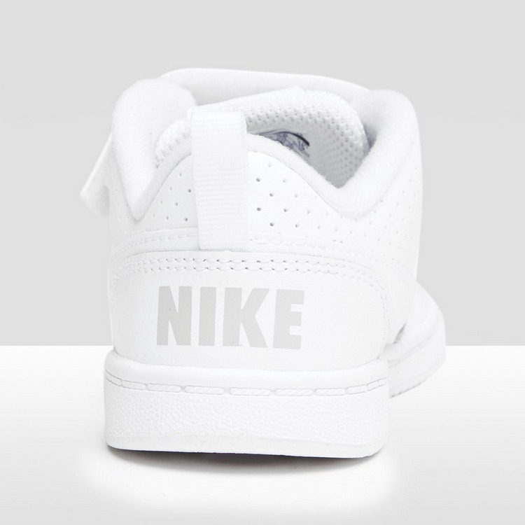 NIKE COURT BOROUGH LOW SNEAKERS WIT BABY